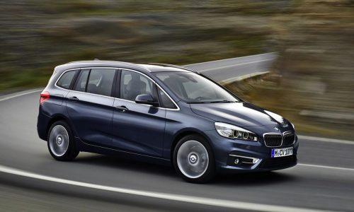 BMW 2 Series Gran Tourer revealed, first premium 7-seat compact