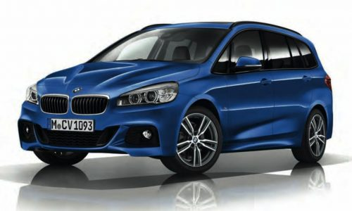 BMW 2 Series Gran Tourer M Sport pack revealed