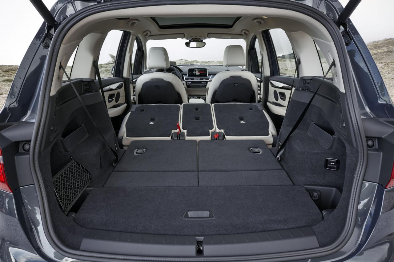 BMW 2 Series Gran Tourer revealed, first premium 7-seat ...