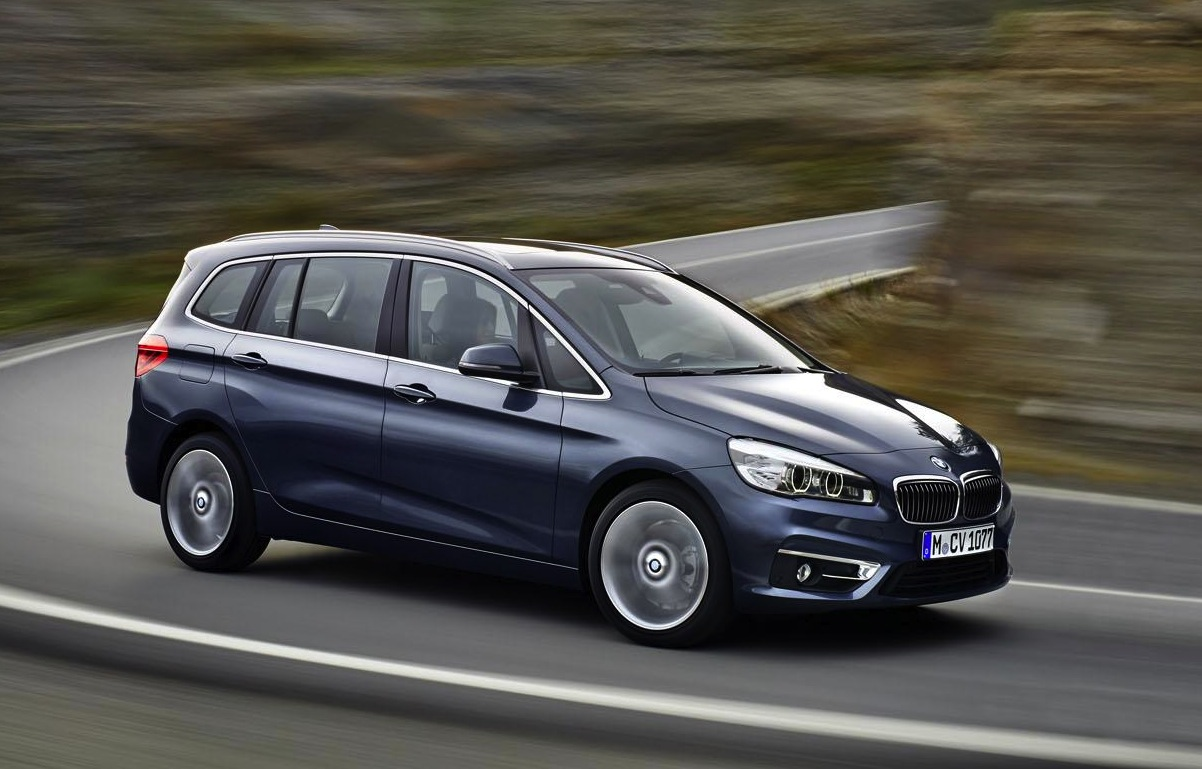 bmw 2 series gran tourer revealed first premium 7 seat. Black Bedroom Furniture Sets. Home Design Ideas