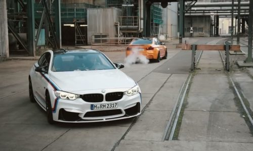 Video: BMW M4 and M3 star in new M Performance ad