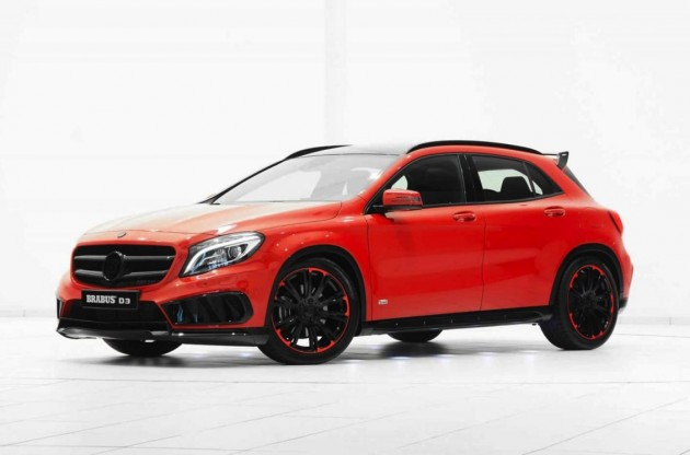 Brabus D3 Mercedes-Benz GLA 220 CDI kit