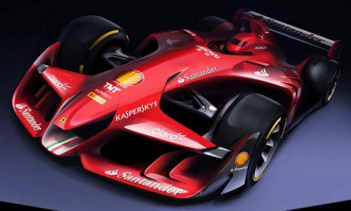 Ferrari envisions future F1 car, designed by aero team