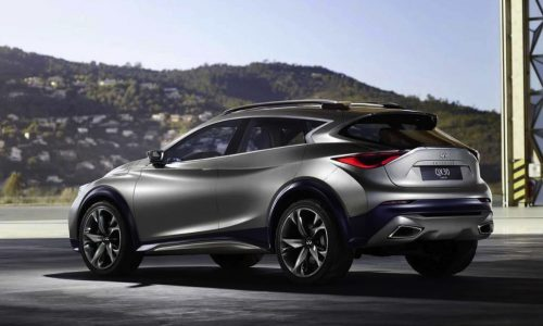 Infiniti QX30 concept previewed again, first full image