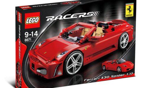 Ferrari no longer world's most powerful brand, Lego is – study