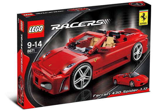 Ferrari no longer world's most powerful brand, Lego is - study | PerformanceDrive