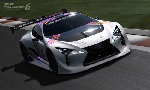 Lexus LF-LC GT Vision Gran Turismo concept revealed