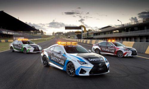 Lexus RC F to run as Safety Car for 2015 V8 Supercars season