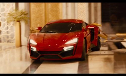 Lykan Hypersport stars in Fast and Furious 7 (trailer video)