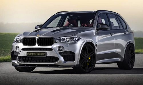 Manhart previews monster MHX5 750 tune for new BMW X5 M
