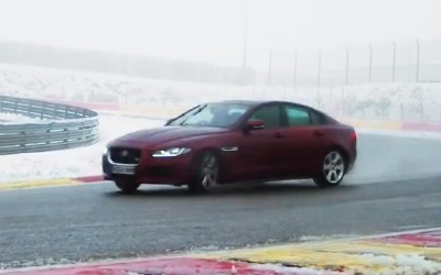 Video: Jaguar XE S hits the track with Martin Brundle
