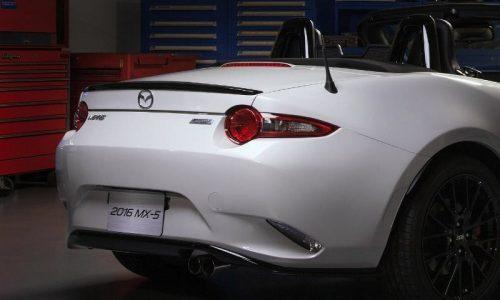 Mazda MX-5 accessories design concept heading to Chicago show