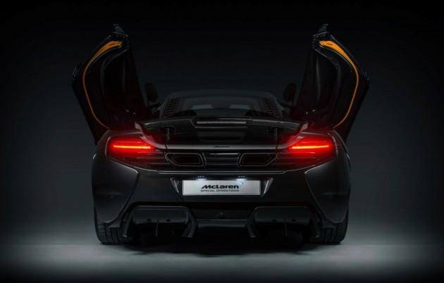 McLaren 650S Project Kilo MSO-rear