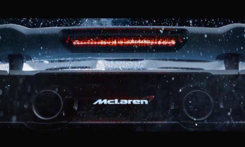 McLaren 675LT previewed again, gets bespoke titanium exhaust (video)