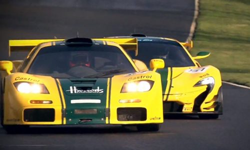 Video: McLaren P1 GTR hits the track with F1 GTR icon