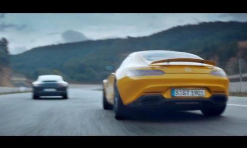 Video: Mercedes-AMG GT 'Dreamcar' promo snubs 911