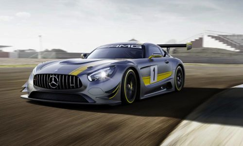Mercedes-AMG GT3 racing car revealed prior to Geneva