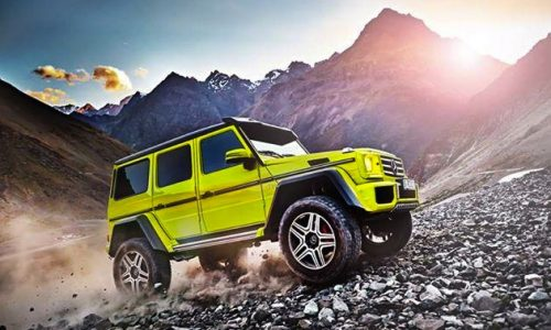 Mercedes-Benz G 500 4×4² previewed, extreme off-road G-Class