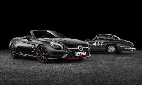 Mercedes-Benz SL 417 Mille Miglia special edition revealed