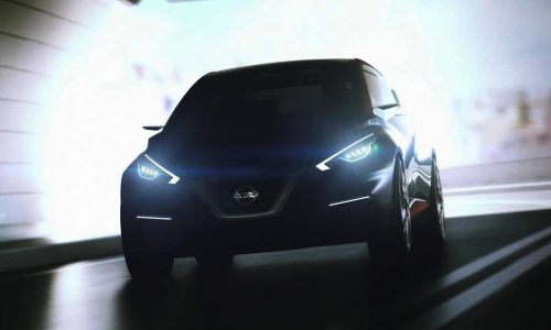 Nissan Sway concept headed for Geneva, previews new small hatch