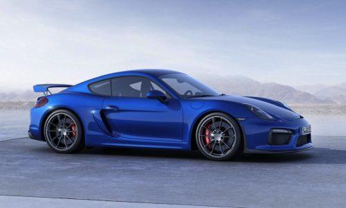 Porsche Cayman GT4 revealed, as quick as 997 911 GT3