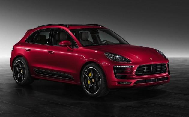 Porsche Exclusive Macan Turbo Impulse Red