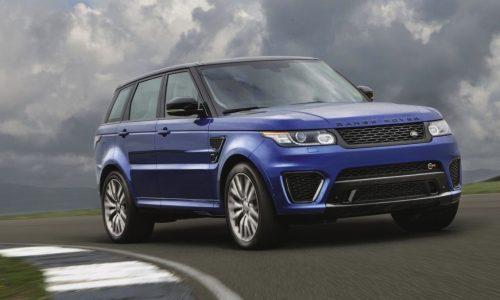 Range Rover Sport SVR on sale in Australia from $218,500