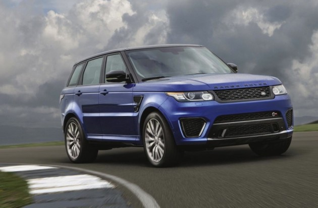 Range Rover Sport SVR-front