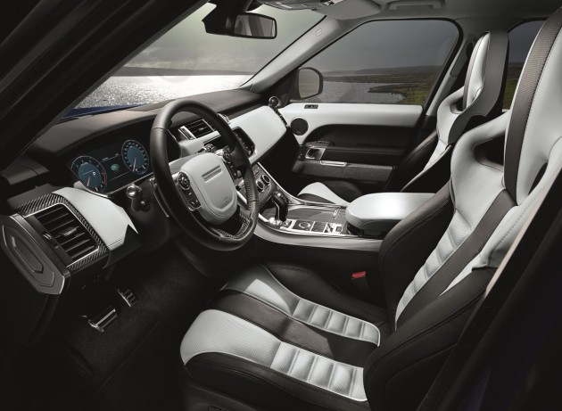 Range Rover Sport SVR-interior