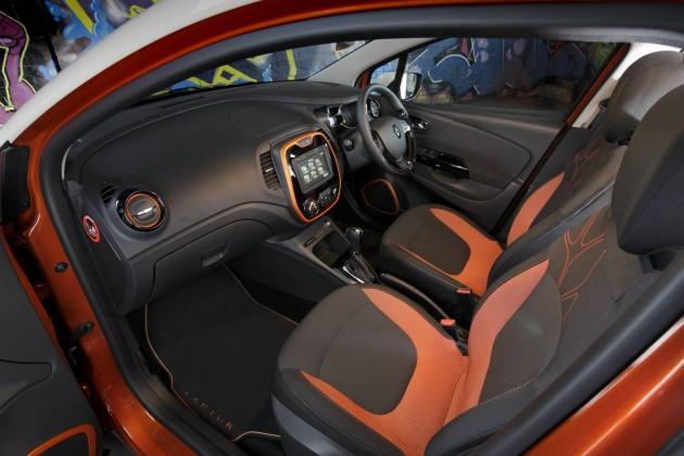 Renault Captur-interior