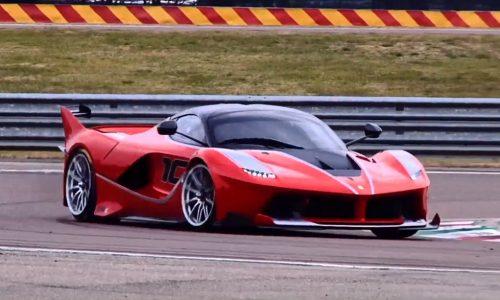 Video: Sebastian Vettel takes LaFerrari FXX K for a thrashing