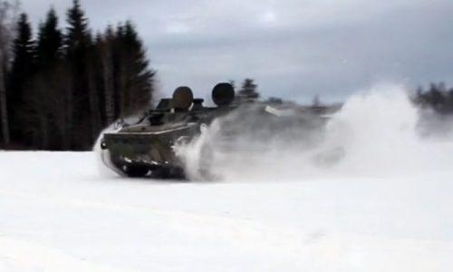 25yo Swede buys a Soviet tank, got bored of snowmobile (video)