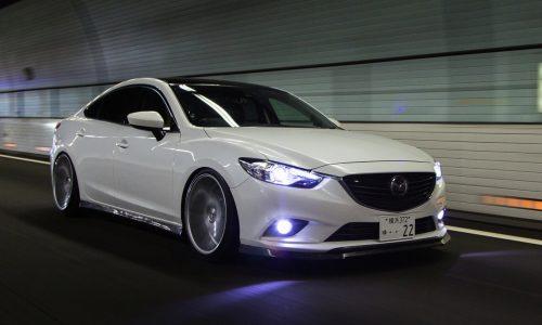 Vossen wheels transform GJ Mazda6 into a slick cruiser