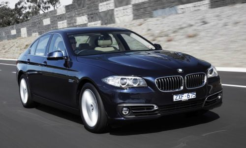 2015 BMW 5 Series gets new option packages, 550i phased out