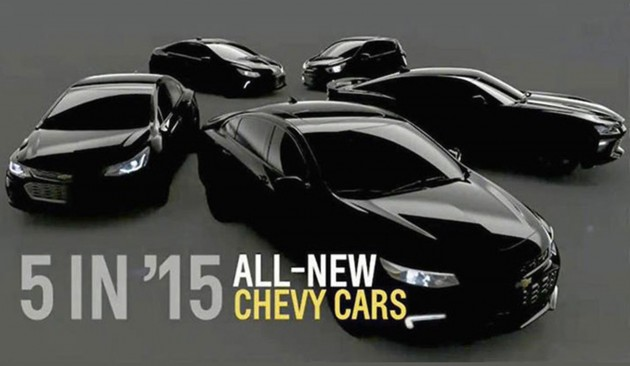 2015 Chevrolet lineup preview