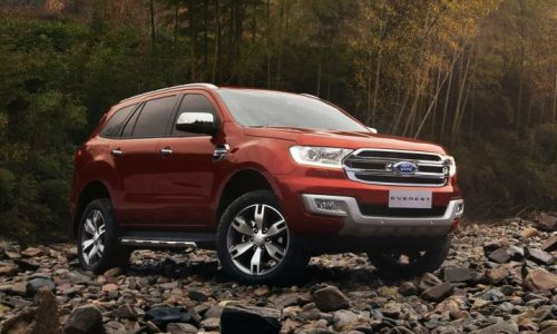 2015 Ford Everest 7-seat SUV revealed in production form