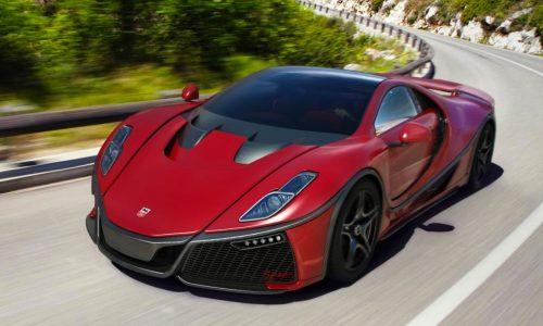 2015 GTA Spano unveiled at Geneva, gets twin-turbo V10