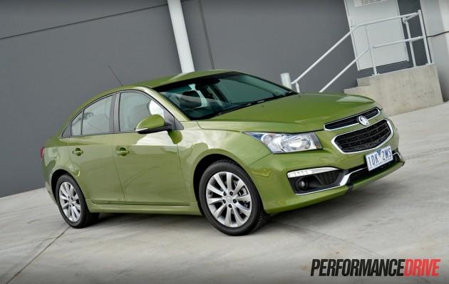 2015 Holden Cruze SRi-Jungle Green
