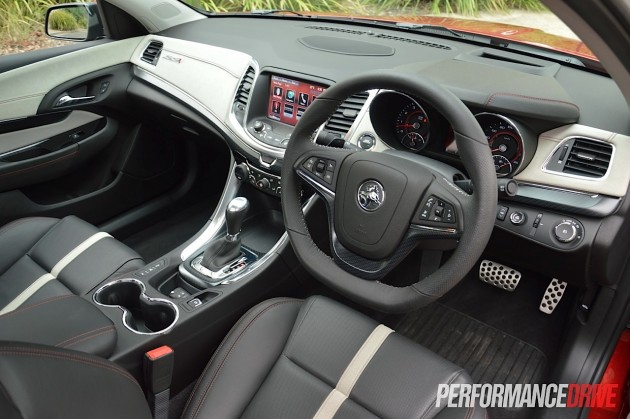2015 Holden VF Commodore ute SSV Redline-interior