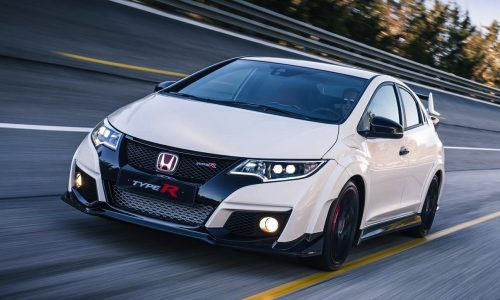 2015 Honda Civic Type R officially unveiled; 228kW, FWD, manual only