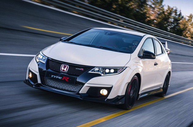 2015 Honda Civic Type R-driving