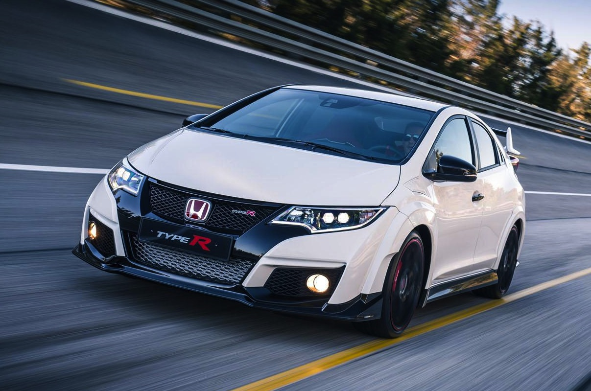 2015 Honda Civic Type R-driving