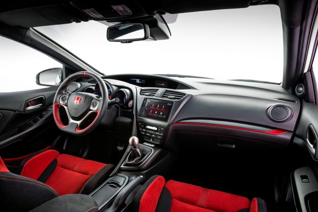 2015 Honda Civic Type R-interior