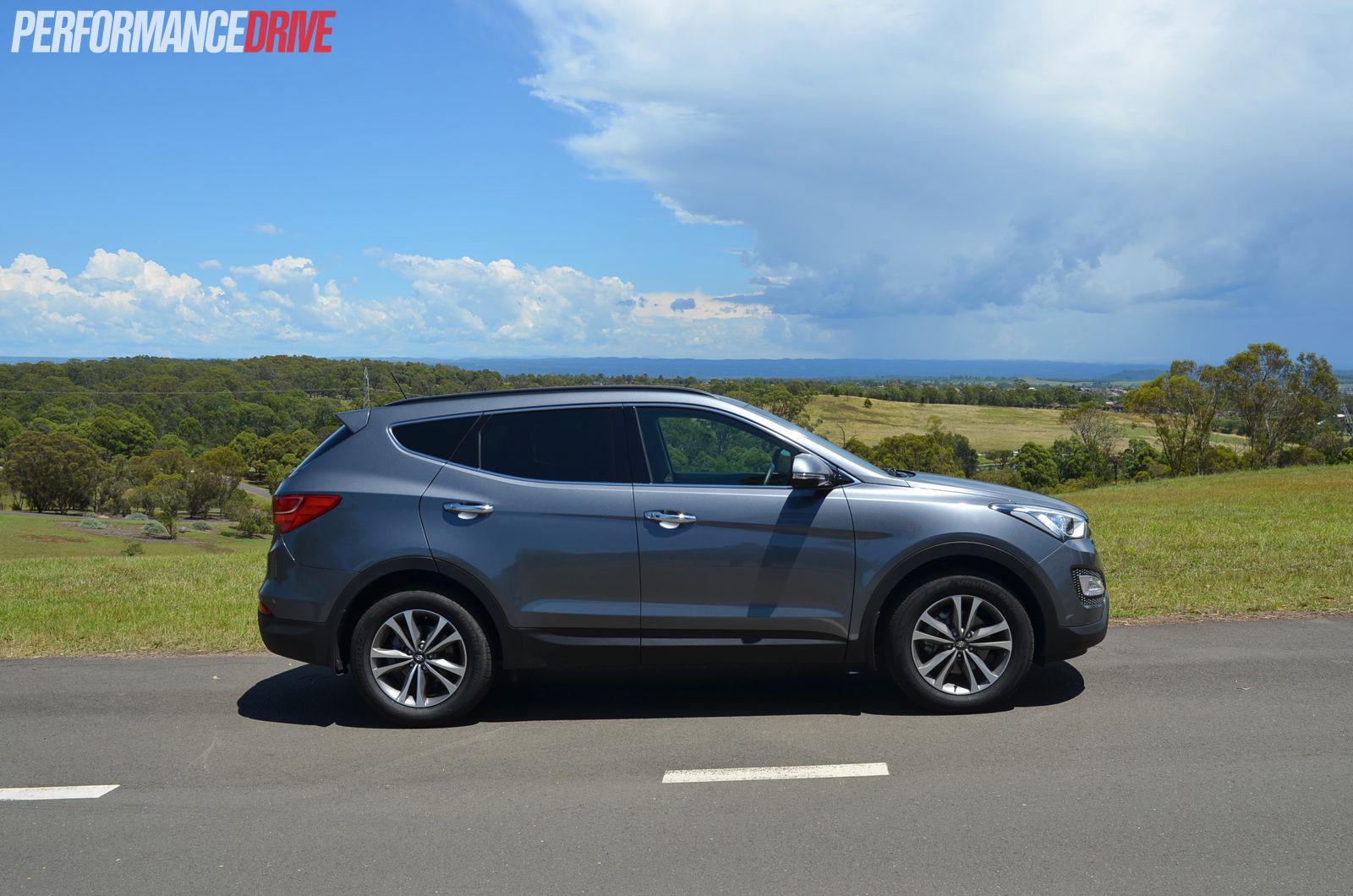 Hyundai Santa Fe Elite Side