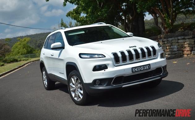 2015 Jeep Cherokee Limited Diesel-grille