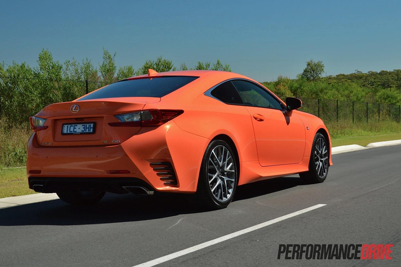 Lexus F Sport >> 2015 Lexus RC 350 F Sport review (video) | PerformanceDrive