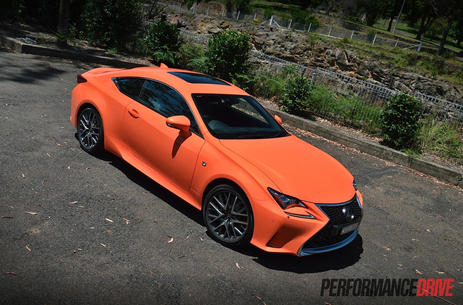 2015 Lexus RC 350 F Sport review (video) | PerformanceDrive