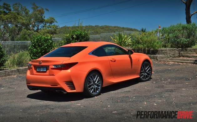 2015 Lexus RC 350 F Sport-rear