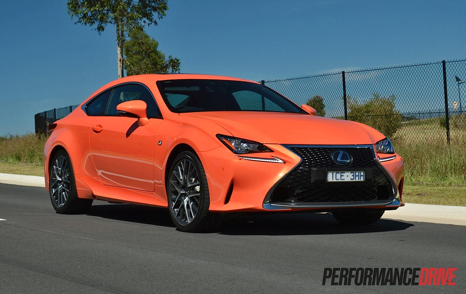 2015 lexus rc 350 f sport review video performancedrive. Black Bedroom Furniture Sets. Home Design Ideas
