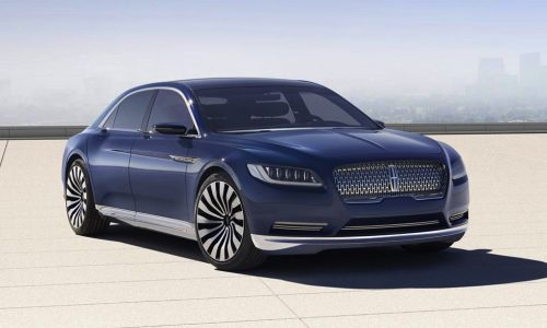 Lincoln Continental Concept revealed, previews 2016 model